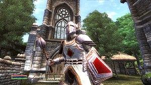 The Elder Scrolls IV: Knights of the Nine - Image: The Elder Scrolls IV Knights of the Nine promotional
