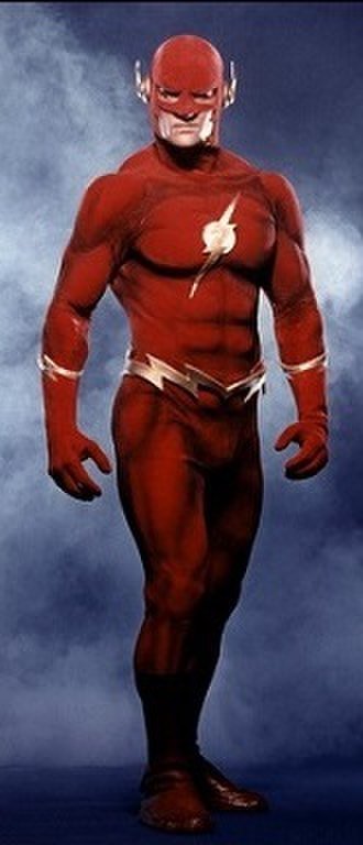 Flash in other media - John Wesley Shipp as the titular protagonist of the television series The Flash.