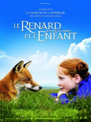 The Fox and the Child - French release poster