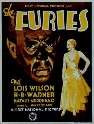 The Furies (1930 film) - Theatrical poster