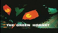 Picture of a TV show: The Green Hornet