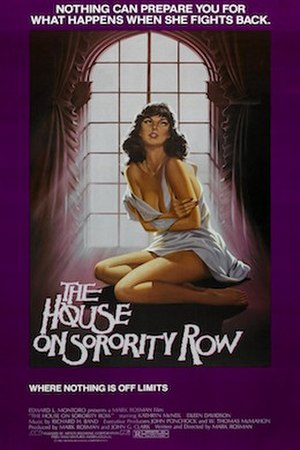 The House on Sorority Row - Theatrical film poster