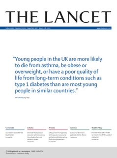 <i>The Lancet</i> Peer-reviewed general medical journal