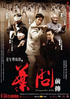 <i>The Legend Is Born: Ip Man</i> 2010 film directed by Herman Yau