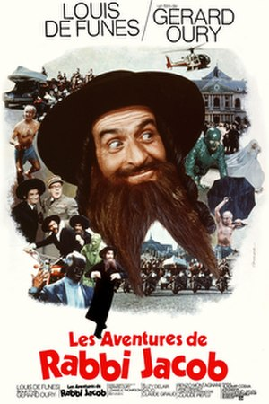 The Mad Adventures of Rabbi Jacob - Image: The Mad Adventures of Rabbi Jacob