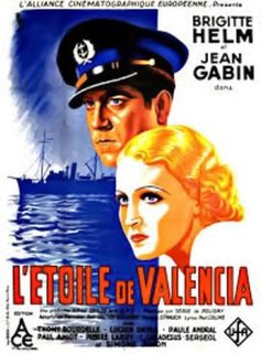 <i>The Star of Valencia</i> (French-language film) 1933 German film directed by Serge de Poligny