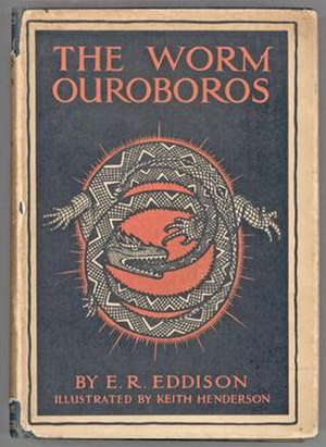 The Worm Ouroboros - Original Cover