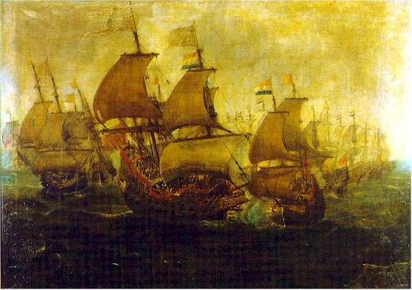 The battle of Gibraltar, August 1621