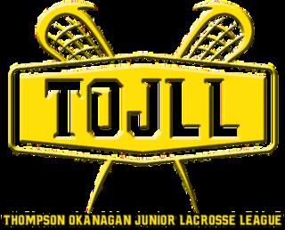 Thompson Okanagan Junior Lacrosse League A Junior B Teir 1 lacrosse league in the British Columbia Thompson-Okanagan region.