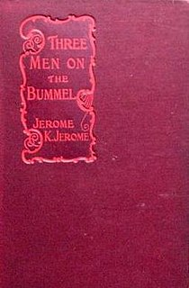 <i>Three Men on the Bummel</i> book