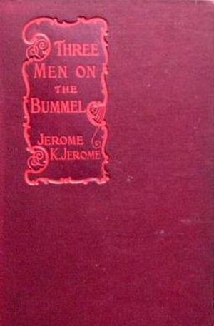 Three Men on the Bummel - First edition