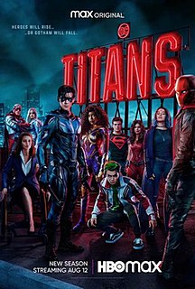 <i>Titans</i> (season 3) Season of television series