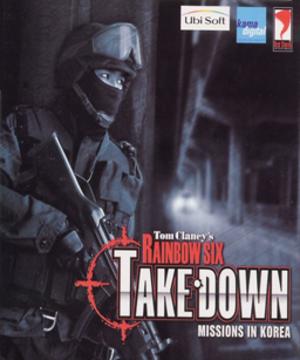Tom Clancy's Rainbow Six: Take-Down – Missions in Korea - Box image of Rainbow Six: Take Down released in South Korea