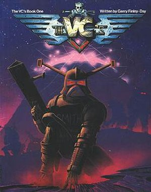 The V.C.s - Cover to the first trade paperback, by Garry Leach