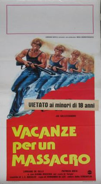 Madness (1980 film) - Image: Vacanze per un massacro 1980