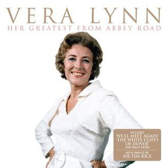 Her Greatest from Abbey Road - Image: Vera Lynn Her Greatest At Abbey Road Album Cover Sleeve