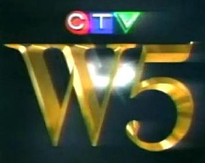 W5 (TV series) - Older W5 with Eric Malling title screen used from 1989 to 1995