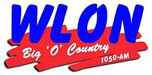 WLON - Image: WLON Big Ocountry 1050 logo