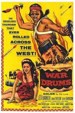 War Drums - Theatrical release poster