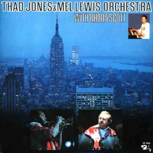 Thad Jones/Mel Lewis Orchestra with Rhoda Scott - Image: With Rhoda Scott Thad Jones Mel Lewis