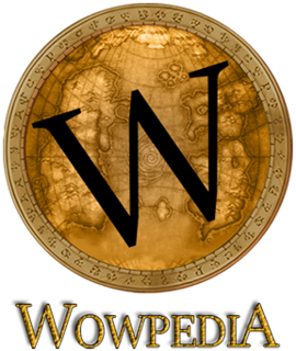 Wowpedia wiki encyclopedia documenting the World of Warcraft game and its lore