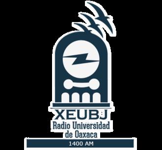XEUBJ-AM - Image: XEUBJ Rad Univ de Oaxaca logo