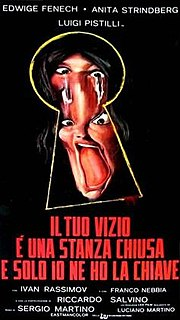 <i>Your Vice Is a Locked Room and Only I Have the Key</i> 1972 film by Sergio Martino