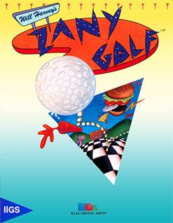 <i>Zany Golf</i> 1988 video game