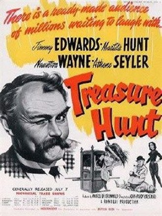 Treasure Hunt (1952 film) - Original trade ad