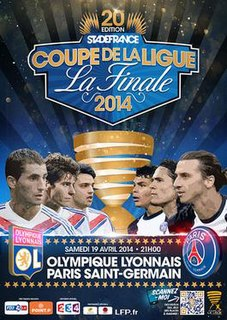 2014 Coupe de la Ligue Final association football match