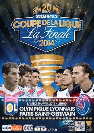 2014 Coupe de la Ligue Final - Image: 2014 Coupe de La Ligue Final promotional poster