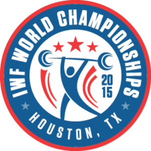 2015 World Weightlifting Championships - Image: 2015 World Weightlifting Championships logo