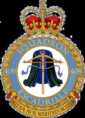 409 Tactical Fighter Squadron - 409 Squadron emblem