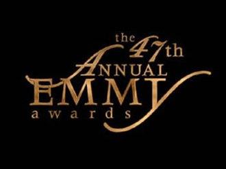 47th Primetime Emmy Awards - Promotional poster