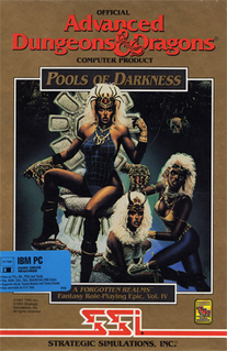 <i>Pools of Darkness</i> 1991 computer role-playing game
