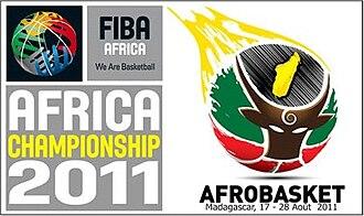 AfroBasket 2011 - Image: Afro Basket 2011 logo