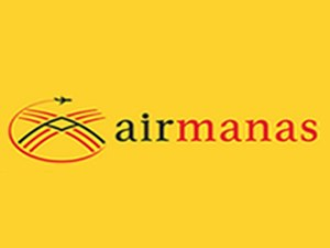 Air Manas - Image: Air Manas logo