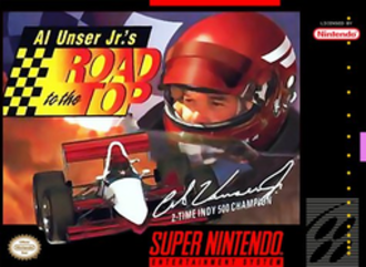 Al Unser Jr.'s Road to the Top - Cover art