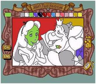 Alice no Paint Adventure - Image: Aliceno Paint Adventure SNES Screenshot