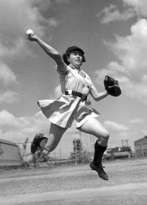 Alma Ziegler - Image: Alma Ziegler (1950 AAGPBL MVP)