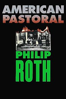 <i>American Pastoral</i> 1997 Book by Philip Roth