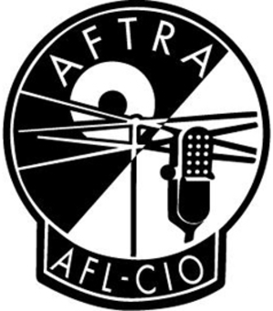 American Federation of Television and Radio Artists - Image: American Federation of Television and Radio Artists logo