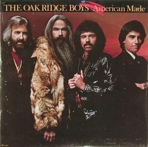 American Made (The Oak Ridge Boys album) - Image: American Made album