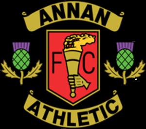 Annan Athletic F.C. - Image: Annan Athletic FC logo