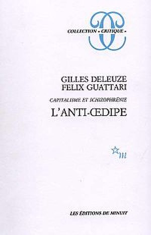 Anti-Oedipus - Cover of the first edition