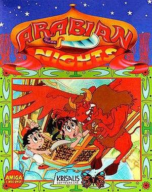 Arabian Nights (video game) - Cover art