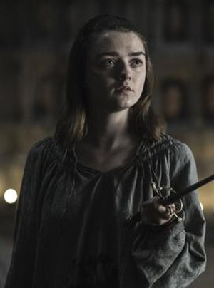 Arya Stark - Maisie Williams as Arya Stark