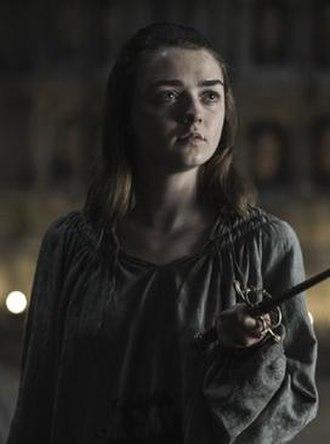 Arya Stark - Maisie Williams as Arya Stark