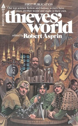 Thieves' World - Image: Asprin Thieves World Velez Cover