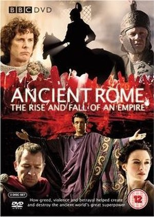Ancient Rome: The Rise and Fall of an Empire - BBC DVD Cover